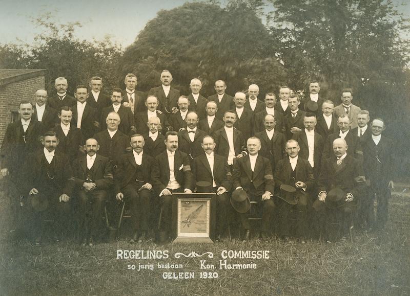 Regelingscommissie van het 50-jarig bestaansfeest