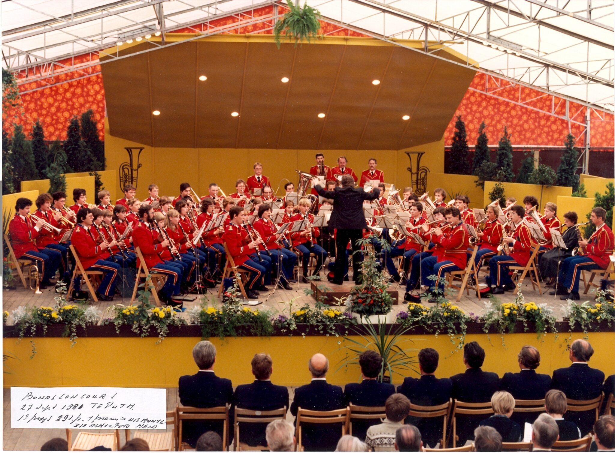 Concours met Jan Hermans in Puth, 1981